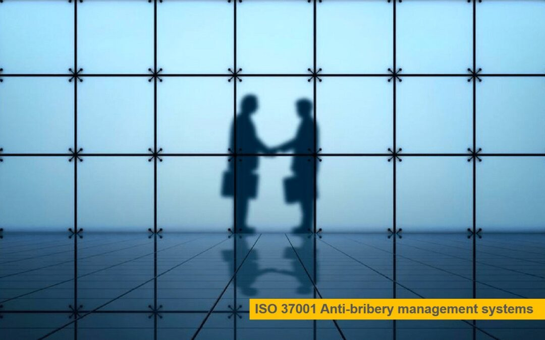 The new ISO 37001 standard supports organizations in their fight against corruption and helps them develop a culture of ethical business administration